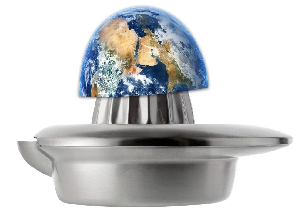 Die Erde wird von den Menschen ausgepresst