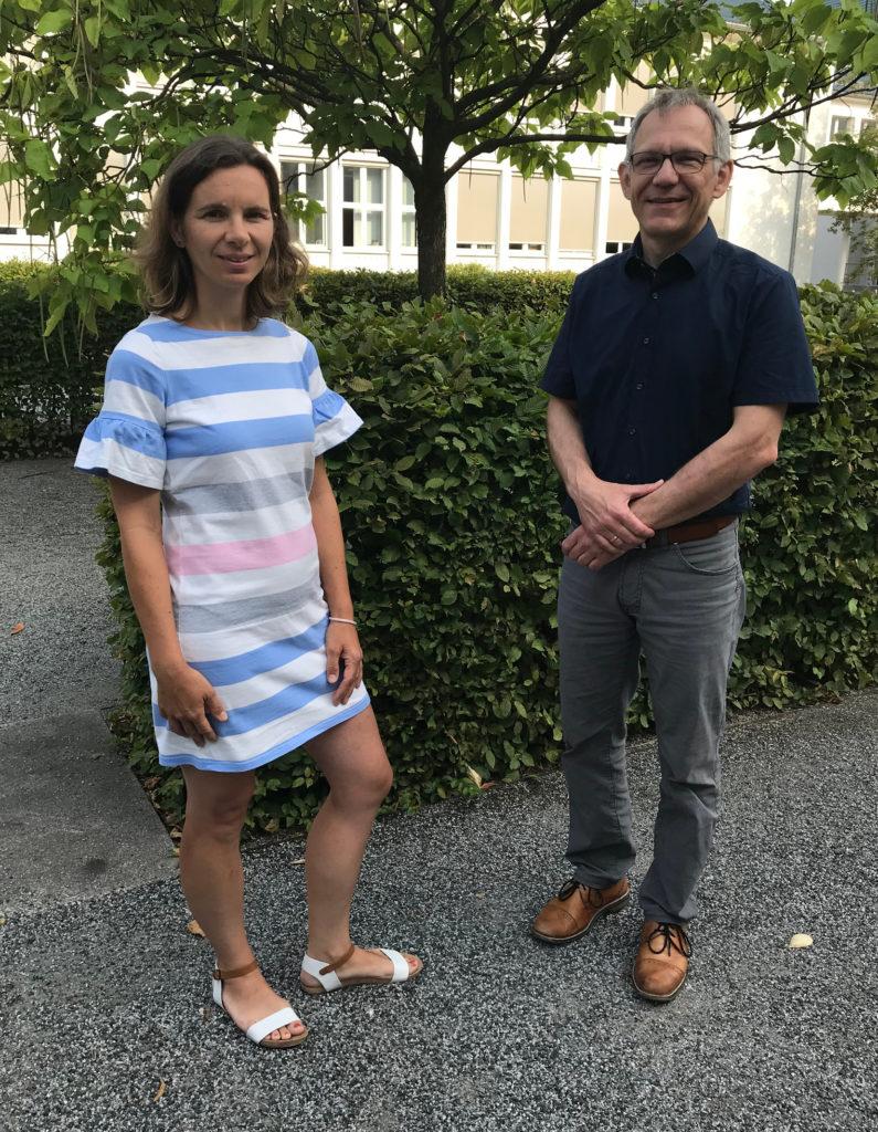 Neue Sprecher*innen Sindy Mosch und Matthias Jahn